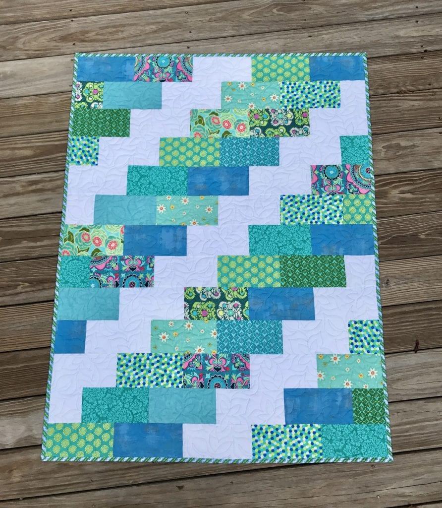 Brick Quilt FREE Pattern