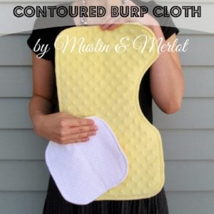 burp cloth free sewing tutorial