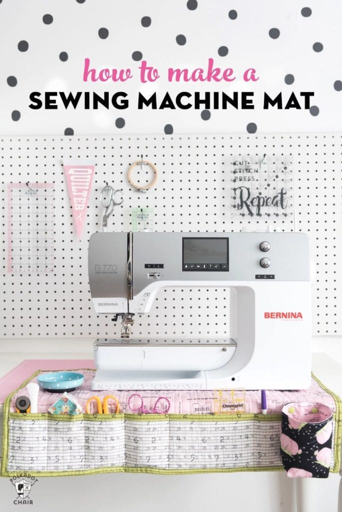 Sewing Machine Mat FREE Tutorial
