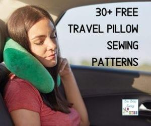FREE Travel Pillow Sewing Patterns