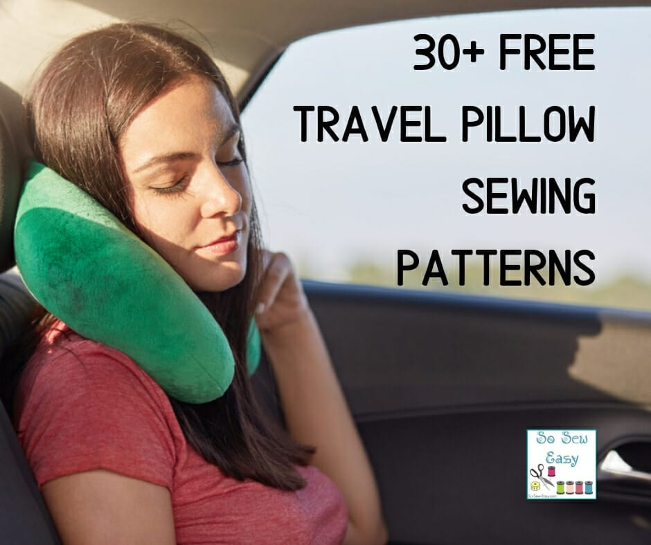 FREE Travel Pillow Sewing Patterns