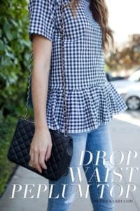 Peplum Top Free Sewing Tutorial
