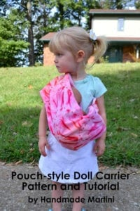 Pouch-Style Doll Carrier