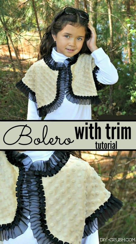Fleece Bolero FREE Pattern