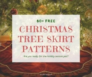 Free Christmas Tree Skirt Patterns