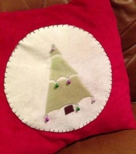 Free Little Tree Applique