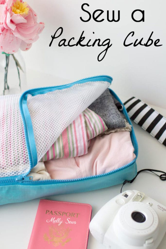 Packing Cube Free Sewing Tutorial