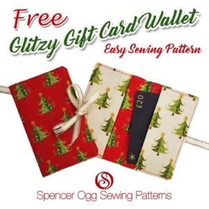 Gift Card Wallet FREE Sewing Pattern