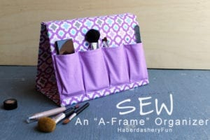 A-Frame Organizer FREE Sewing Tutorial