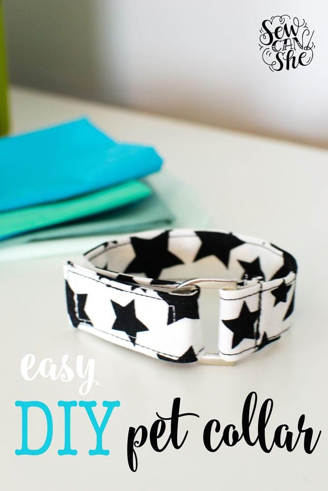 Adjustable Pet Collar FREE Sewing Tutorial