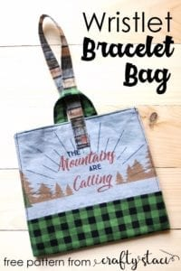 Bracelet Bag Free Sewing Pattern