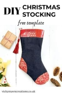 Christmas Stocking FREE Sewing Pattern