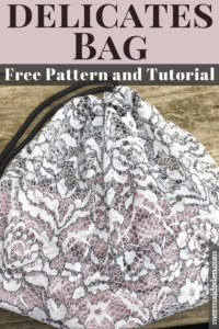 Lingerie Bag Free sewing tutorial