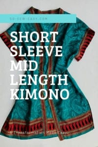 Mid Length Kimono FREE Pattern