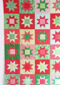 No Point Stars Free Quilt Pattern