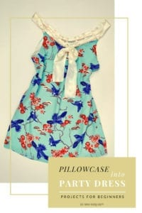 Pillowcase Party Dress FREE Sewing Tutorial