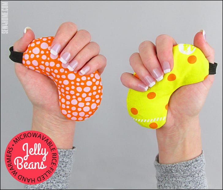 Rice-Filled Microwave Hand Warmers