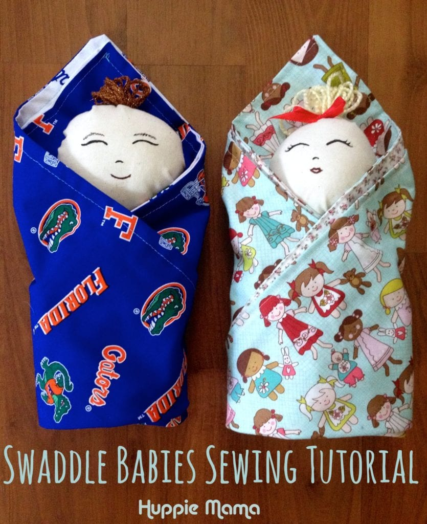 Swaddle Babies FREE Sewing Tutorial