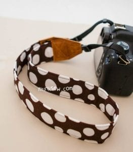 Camera Strap FREE Sewing Pattern