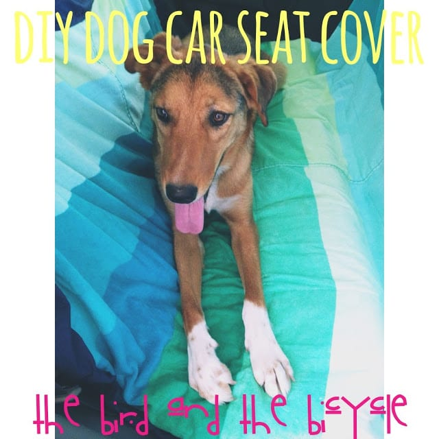 Dog Car Seat Cover FREE Sewing Tutorial