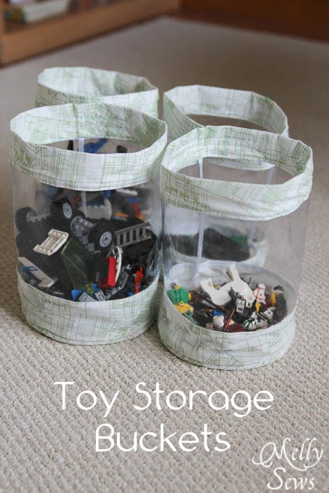 Fabric Storage Bucket FREE Sewing Tutorial