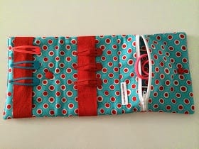 Hair Accessory Bag Free Sewing Tutorial