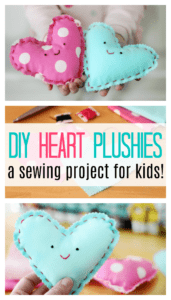 Heart Plushie Sewing Project