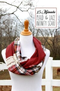 Lace Infinity Scarf FREE Tutorial