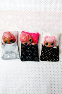 Little Doll Sleeping Bag FREE Sewing Tutorial