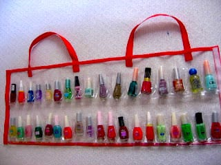 Nail Polish Organizer Bag FREE Sewing Tutorial