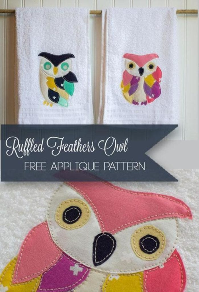 Ruffled Feathers Owl FREE Pattern