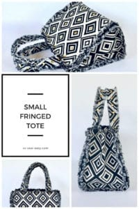 Small Fringed Tote Bag FREE Pattern