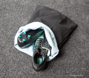 Soccer Boots Bag Free sewing tutorial