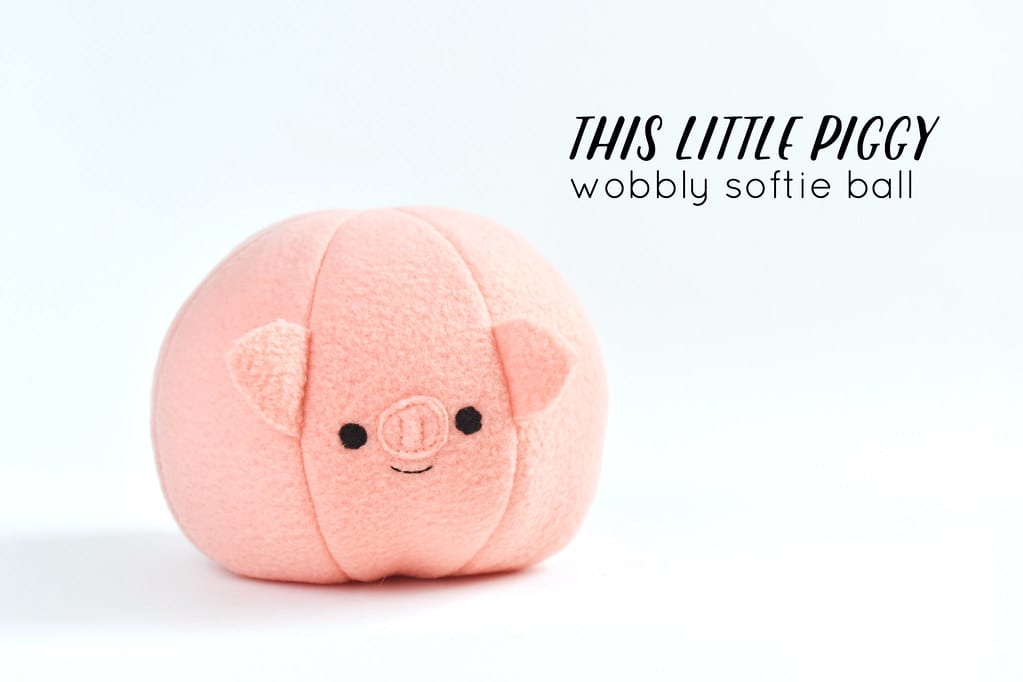 Piggy Toy FREE Sewing Pattern