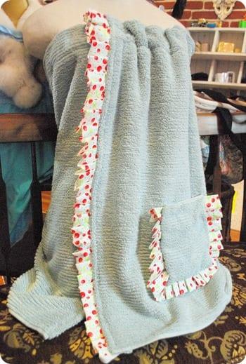 Spa Towel Wrap Free Sewing Tutorial