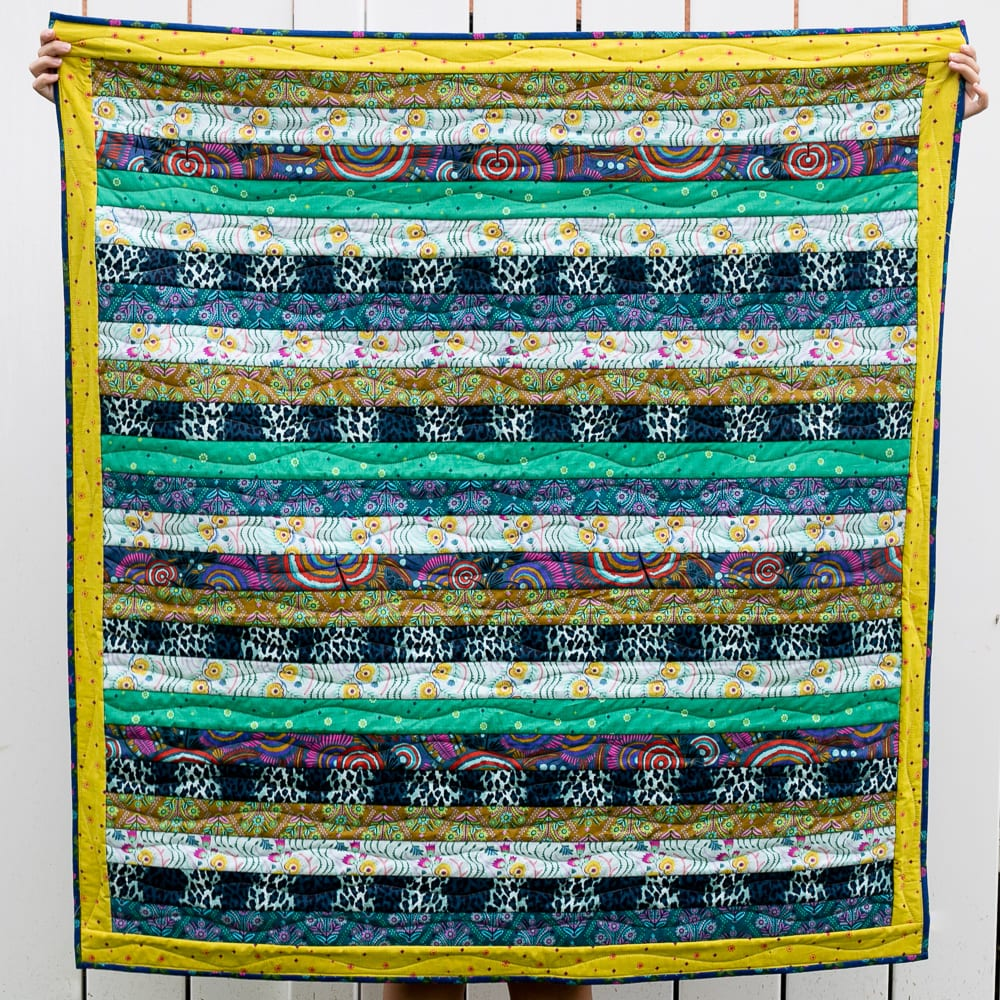 Strip Quilt FREE Tutorial