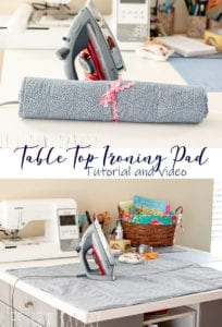 Ironing Pad free sewing tutorial