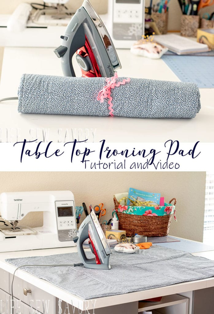 Ironing Pad free sewing tutorial
