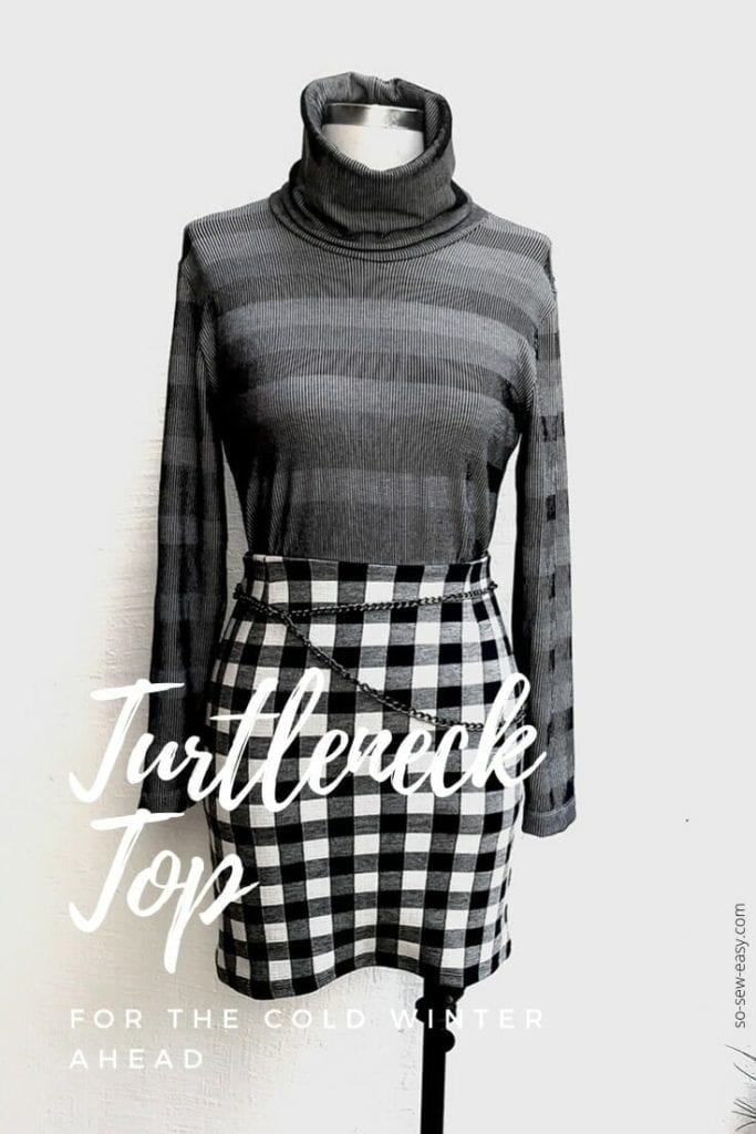 Turtleneck Top FREE Sewing Pattern