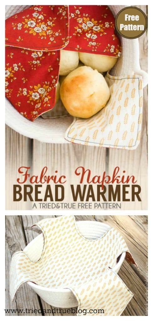 Bread Warmer Free Sewing Pattern