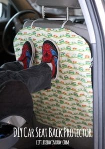 Car Seat Protector FREE Sewing Tutorial