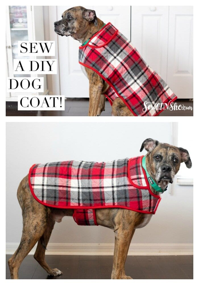 Dog Coat FREE Sewing Tutorial