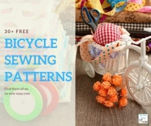 FREE Bicycle Sewing Patterns
