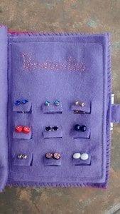 Earrings Organizer FREE Tutorial