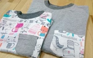 Matching Tee FREE Sewing Pattern