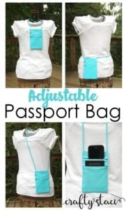 Passport Bag FREE Sewing Tutorial