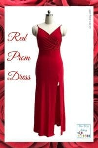 Red Prom Dress Free Sewing Pattern