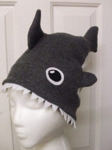 Shark Attack Hat Free Sewing Tutorial