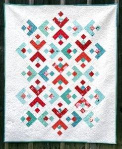 Snowflake quilt free tutorial