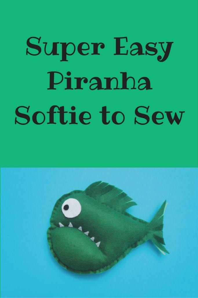 Piranha Softie FREE Sewing Tutorial